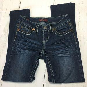 🍃🖤 YMI Skinny Stretch Dark Wash Denim Jeans